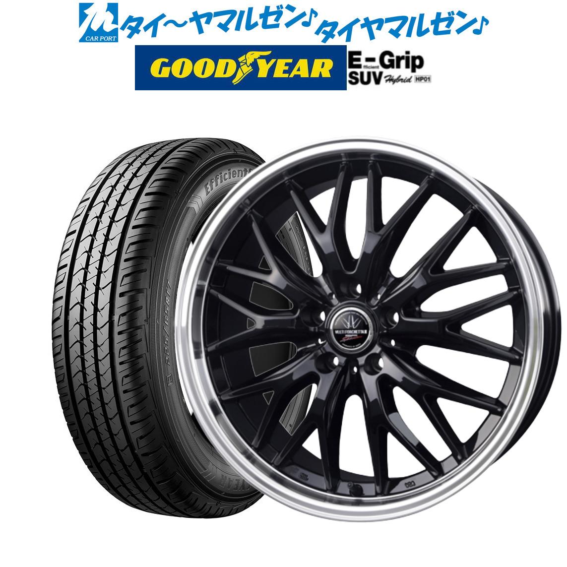 上質で快適 新品・送料無料・4本セットBADX ロクサーニ ロクサーニ 96H マルチフォルケッタ2 SUV SP-SPECTORブラック/リムポリッシュ17インチ 7.0Jグッドイヤー エフィシエント グリップ SUV HP01215/60R17 96H, ZonzonTec:bbf2fd88 --- easyacesynergy.com