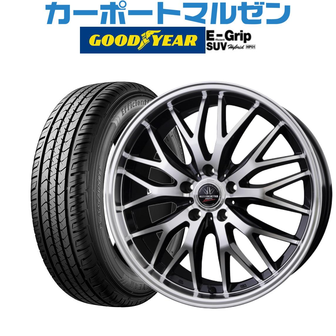 新品・送料無料・4本セットBADX HP01215/60R17 SUV ロクサーニ マルチフォルケッタ2 SP-SPECTORブラック/フェイスポリッシュ17インチ 7.0Jグッドイヤー エフィシエント 96H グリップ SUV HP01215/60R17 96H:803f3f4f --- easyacesynergy.com