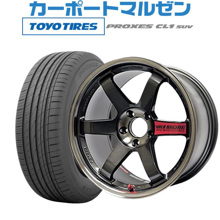世界有名な 【お買い物マラソン期間 (数量限定) 全商品P5倍 7.5Jトーヨー】新品・送料無料・4本セットレイズ ボルクレーシング XL TE37 SLプレスドグラファイト17インチ 7.5Jトーヨー プロクセス PROXES CL1 SUV225/55R17 101V XL (数量限定), 品質満点:928f4162 --- yuk.dog