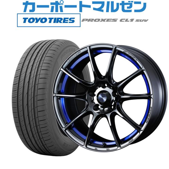 低価格の 【お買い物マラソン期間 CL1 全商品P5倍 7.5Jトーヨー】新品・送料無料・4本セットウェッズ ウェッズスポーツ (数量限定) SA-25Rブルーライトクローム2(BLC2)17インチ 7.5Jトーヨー プロクセス PROXES CL1 SUV225/55R17 101V XL (数量限定), 今津町:e1eb1fca --- inglin-transporte.ch