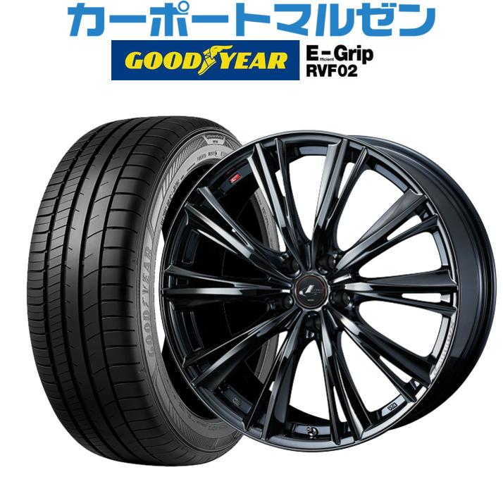 日本製 新品 RVF02225/45R19・送料無料・4本セットウェッズ 96W レオニス WXブラックメタルコート119インチ 8.0Jグッドイヤー エフィシエント レオニス グリップ RVF02225/45R19 96W XL, vif:3c58a2de --- fotomat24.com