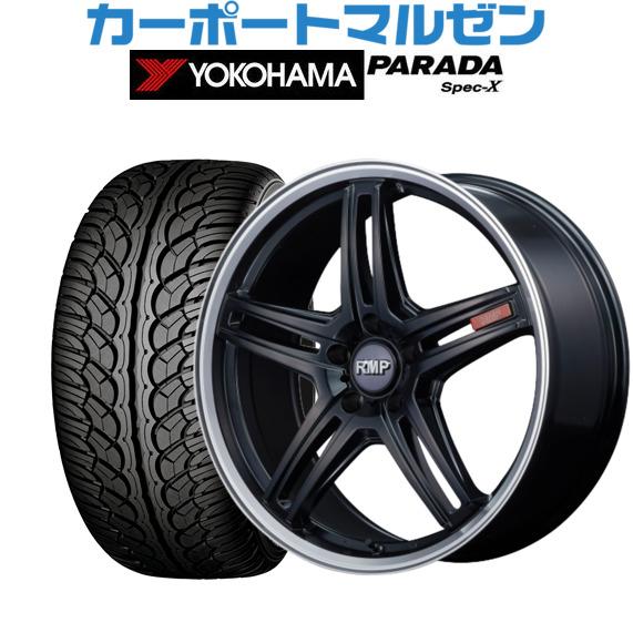日本初の 新品 Spec-X235/55R18 PARADA・送料無料・4本セットMID RMP 7.0Jヨコハマ 520Fセミグロスブラック/リムポリッシュ18インチ 7.0Jヨコハマ PARADA パラダ Spec-X235/55R18 100V, ホバラマチ:5df41a3d --- growyourleadgen.petramanos.com