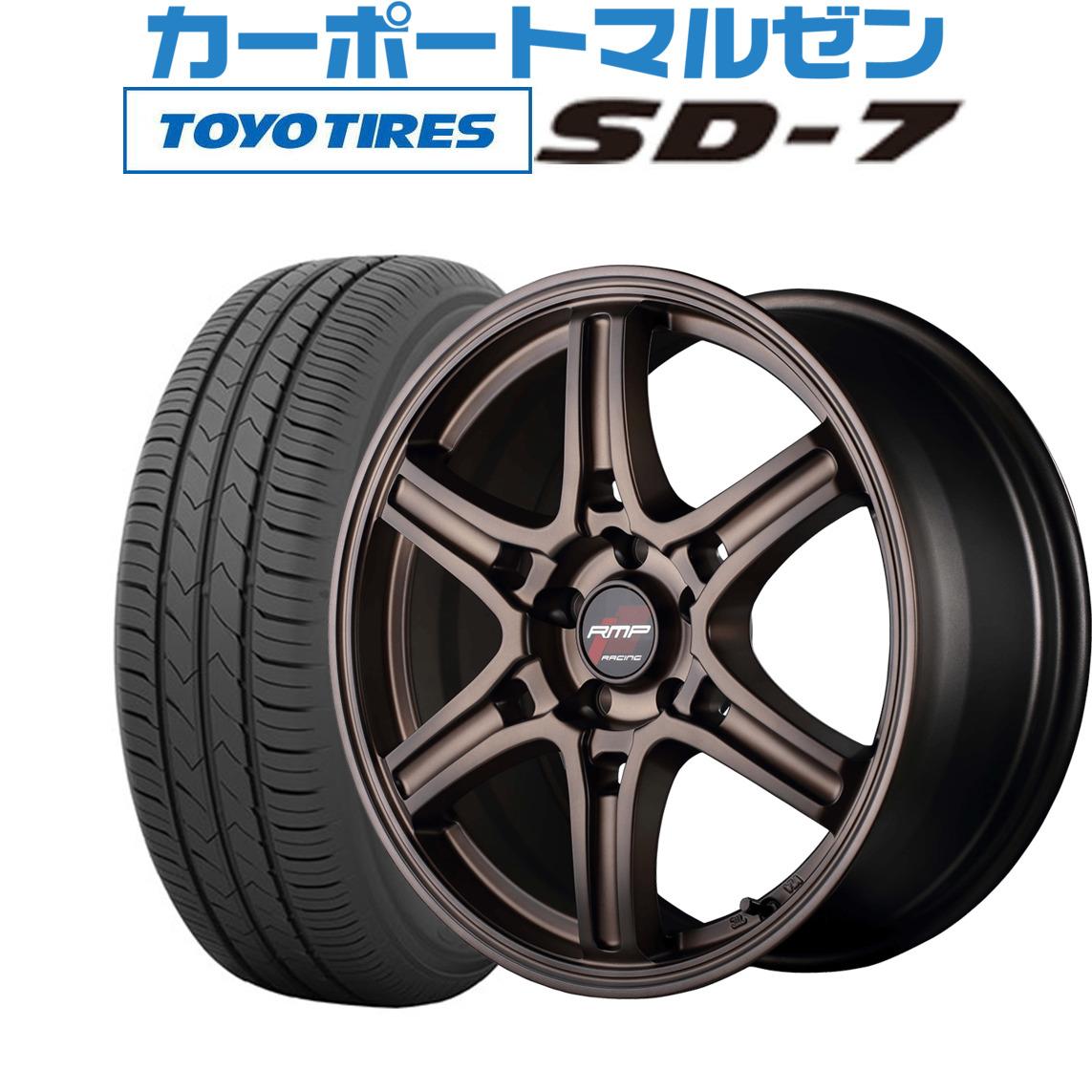 新品 215 60R17 サマータイヤ ホイール 4本セット 売買 送料無料 96H R60クラシカルブロンズ17インチ SD-7 TOYO 7.0Jトーヨー RMPレーシング 秀逸 4本セットMID
