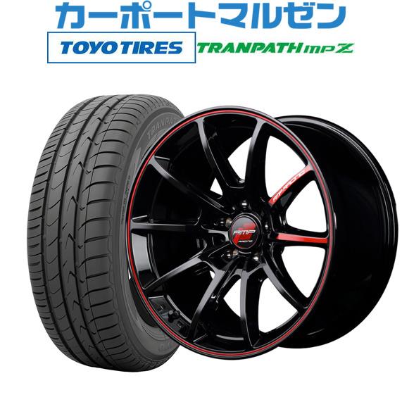 当社の 新品 8.0Jトーヨー・送料無料・4本セットMID RMPレーシング R25ブラック トランパス/リムレッドライン17インチ 8.0Jトーヨー RMPレーシング トランパス mpZ215/45R17 91W XL, 買援隊:b0bbfa9c --- easyacesynergy.com