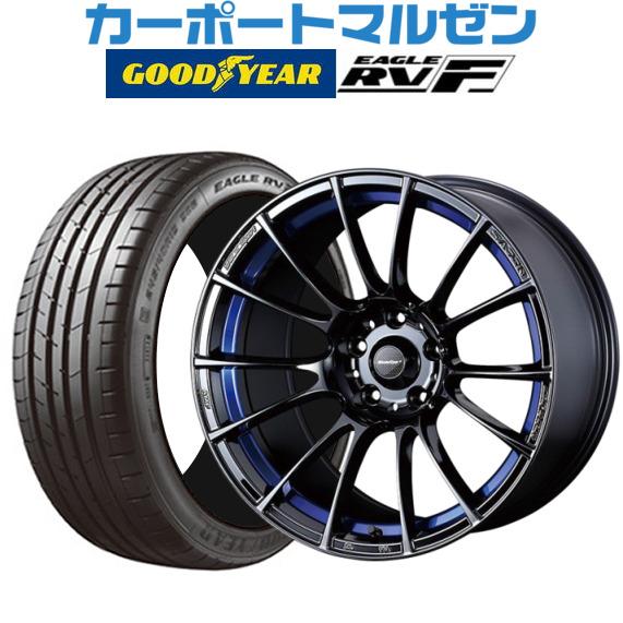 訳あり 新品・送料無料・4本セットウェッズ ウェッズスポーツ ウェッズスポーツ SA-72Rブルーライトクローム2(BLC2)17インチ XL 7.0Jグッドイヤー イーグル RV-F(RVF)205 7.0Jグッドイヤー/55R17 95V XL, 高い素材:4627da96 --- vlogica.com