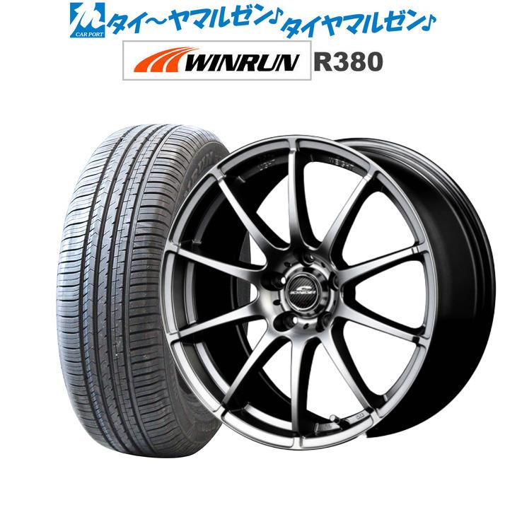 新品 205 60R16 サマータイヤ ホイール 4本セット 送料無料 6.5JWINRUN スタッグメタリックグレー16インチ R380205 92H ウインラン 人気上昇中 シュナイダー 4本セットMID 100%品質保証!