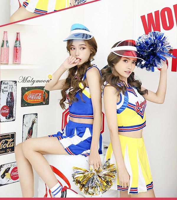 Cheerleader Sun Visor Cheerleading Sun Visor Hat Light Blue