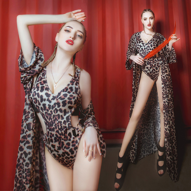 ダンスウェア レディース おしゃれ セットアップ ステージ衣装 舞台衣装 ダンス 衣装 セクシー 豹柄 レディース セット ダンスウェア ダンスウエア ファッション イベント 目立つ ジャズ ダンス【dance-8381】