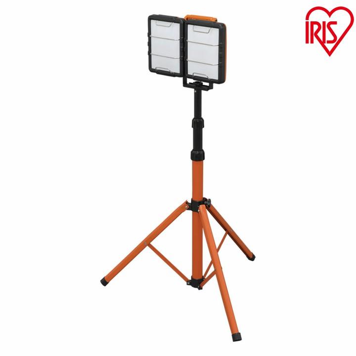 LEDスタンドライト 10000lm LWT-10000S-AJ送料無料 スタンドライト スタンドタイプ 照明 LED LEDライト LED照明 ライト 明かり 投光器 作業灯 長寿命 省電力 作業用品 LED投光器 屋内 スタンド式 2灯 置き型 軽量 アイリスオーヤマ[cpir] iris60th