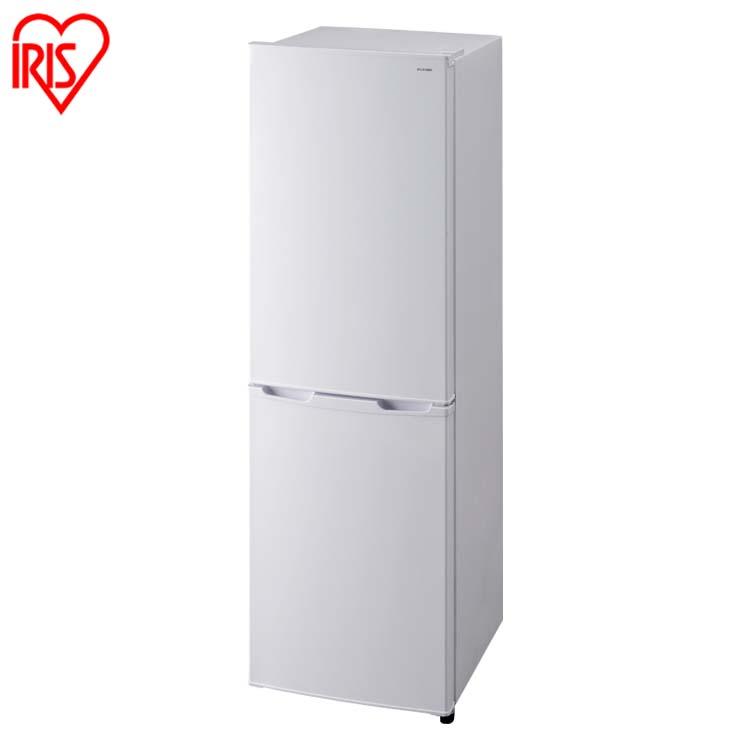 ノンフロン冷凍冷蔵庫 162L ホワイト AF162-W送料無料 ノンフロン冷凍冷蔵庫 2ドア 162リットル ホワイト 冷蔵庫 れいぞうこ 冷凍庫 れいとうこ 料理 調理 家電 食糧 冷蔵 保存 食糧 白物 右開き みぎびらき アイリスオーヤマ iris60th