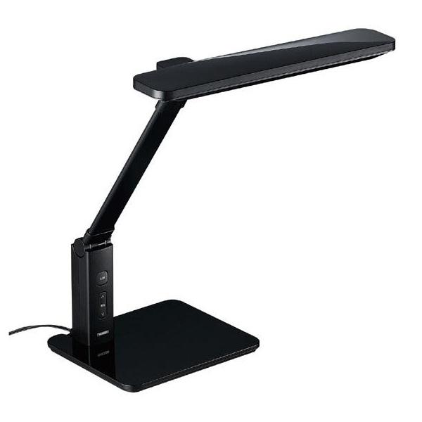 【送料無料】ツインバード〔TWINBIRD〕 LEDデスクライト LE-H616 10灯式 ブラック【取寄品】【D】