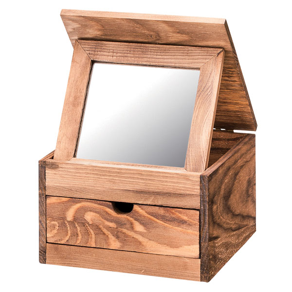 natural wood mirror rectangular mini mirror box akb132 mini cozy case wristlet natural wood pine oil finish with stylish accessory storage wooden mamababy
