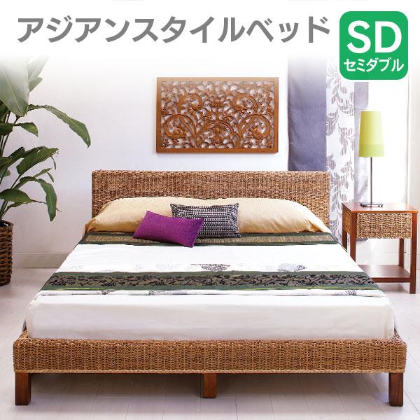 【送料無料】【TD】ベッド セミダブル RB-1981-SD ベット 寝台 寝床 BED bed 【HH】【代引不可】【02P30May15】