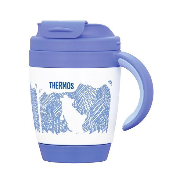 Thermos vacuum insulated mugs JCV-270 bear (KU)