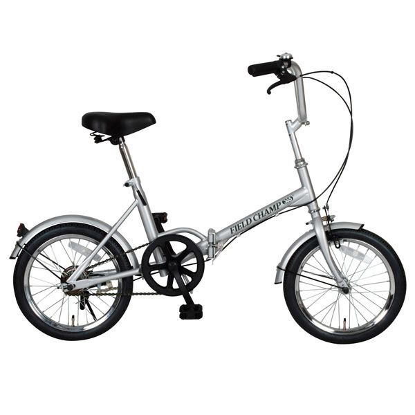 【送料無料】【折りたたみ自転車】FIELD CHAMP365 FDB16【16インチ】ミムゴ NO.72750・シルバー【TD】