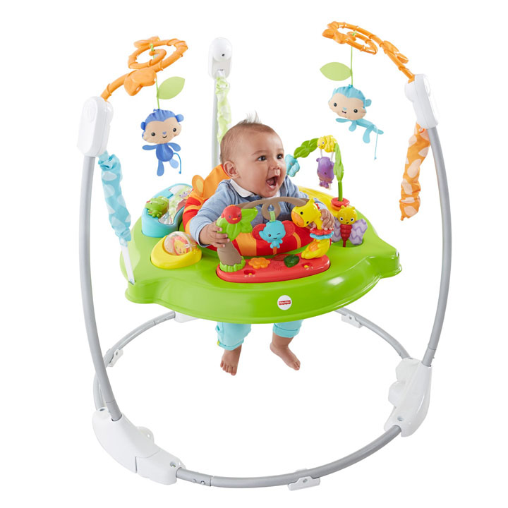 Mamababy And The Rain Forest Jumparoo Cct41 Fisher Price Fisher