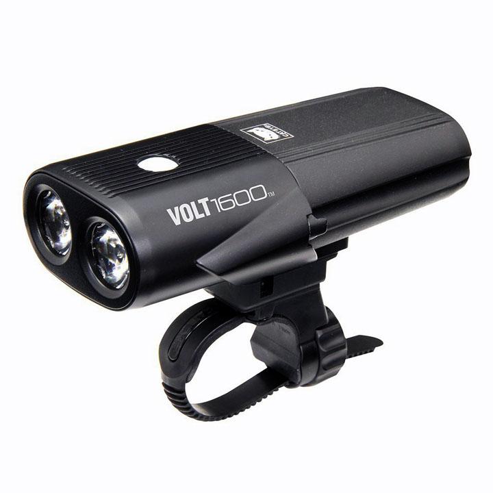 VOLT1600 (ボルト1600) USB充電式 黒 HL-EL1010RC送料無料 自転車 ライト usb 充電 前 フロント ヘッドライト ヘッドランプ キャットアイ 【D】