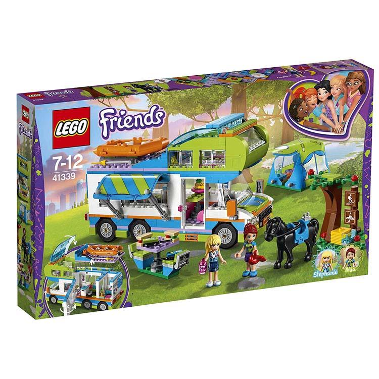 レゴ フレンズ ミアのキャンピングカー 41339送料無料 おもちゃ 玩具 ブロック 女の子向け ミニチュア お友達 LEGO Friends ギフト プレゼント レゴジャパン 【TC】