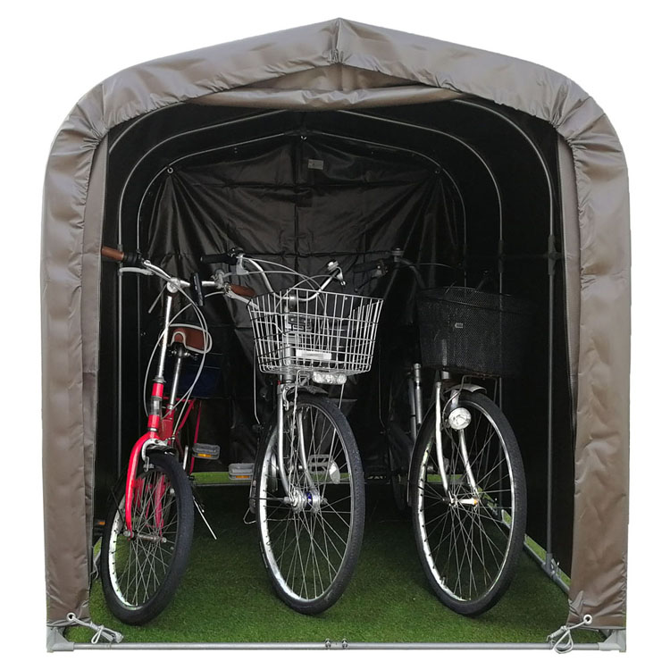 サイクルハウス ブラウン 3台用SB送料無料 自転車 自転車置き場 自転車収納 DIY 工具 住宅設備 南栄工業 【D】