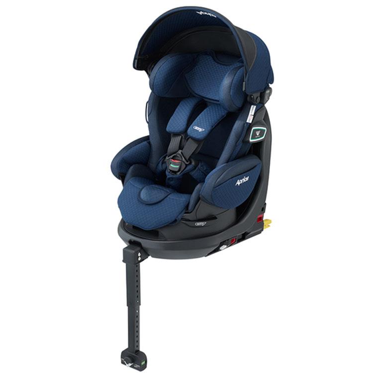 8ce7a2ebc6ae8d ... ベビー用品赤ちゃんチャイルドシートカーシートISOFIX取付安全ベッド型回転式シェードアップリカフラ