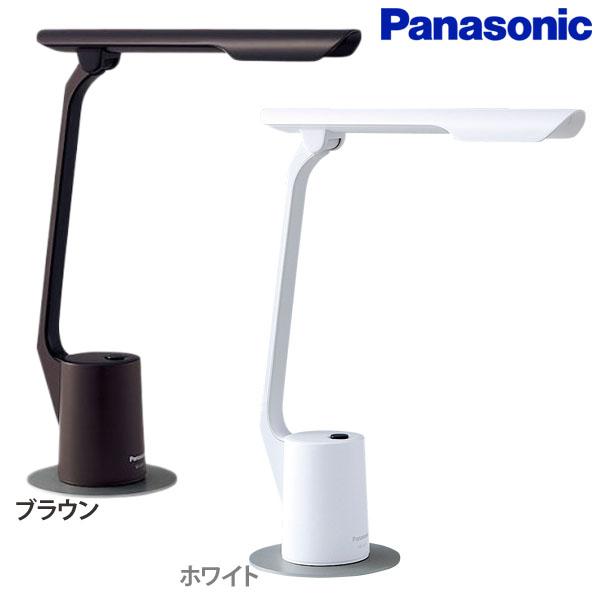 【送料無料】Panasonic〔パナソニック〕LEDデスクスタンド SQ-LD510 ブラウン・ホワイト【D】【DW】