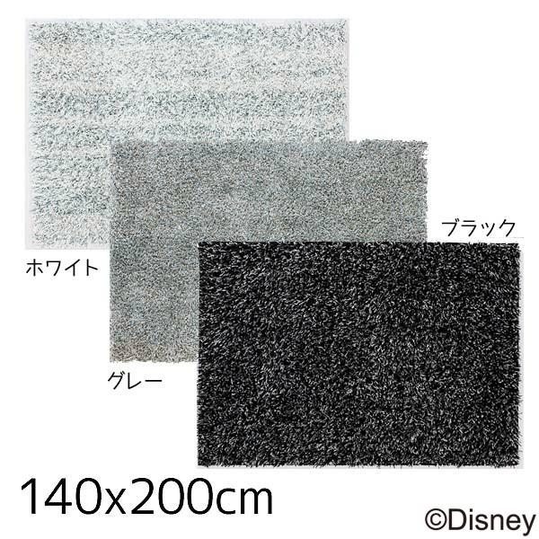 【送料無料】【取寄品】【TD】ミッキー スピーチレースラグDRM-1019 140×200cmホワイト・グレー・ブラック 敷物 絨毯 マット ディズニー キャラクター 【スミノエ】【Disneyzone】