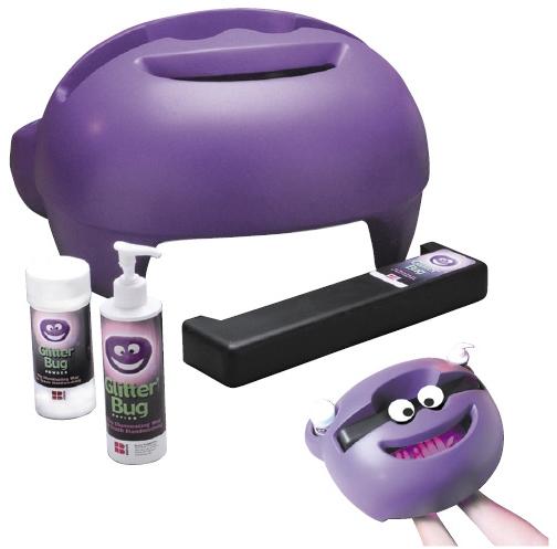 手洗い評価キット グリッターバグ  規格:セット 11-2785-00