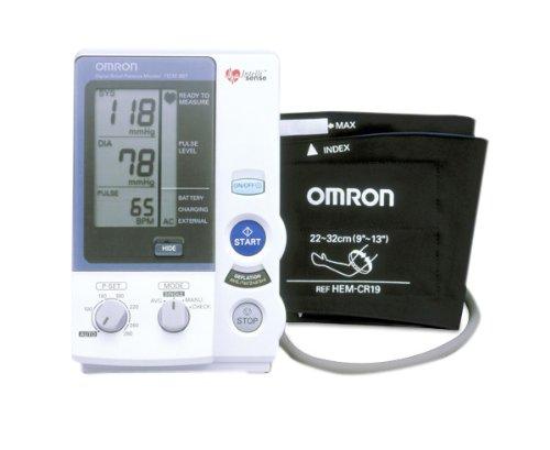 高度の信頼性でホスピタルユースに対応。オート&マニュアル2方式対応型 オムロンデジタル自動血圧計 HEM-907