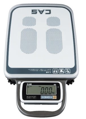 検定付き PB-150H CAS ポータブルデジタル体重計(PB) 最大計量(ひょう量) 150kg