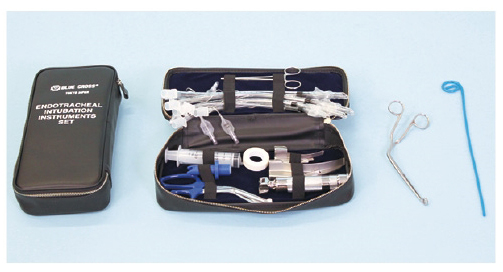 ブルークロス・エマージェンシー 気管挿管セット(新生児用) ET-I-DX(デラックス) 11-2560-01