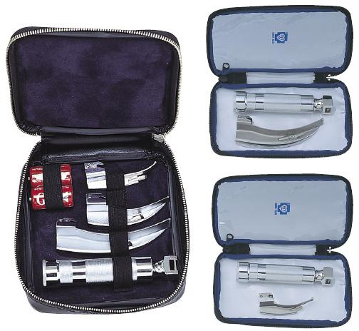 ブルークロス・エマージェンシー 喉頭鏡セット(マッキントッシュ氏) LS-3S-E 01-5555-21