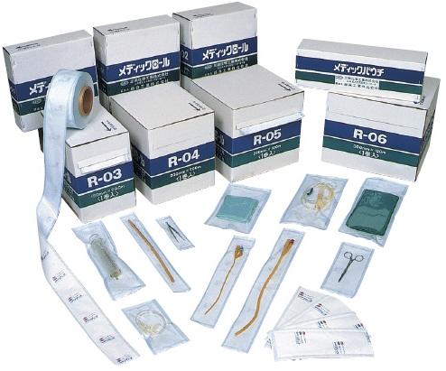 三興化学工業 メディックパウチ P-400 400X600MM (500マイイリ) 03-2780-28