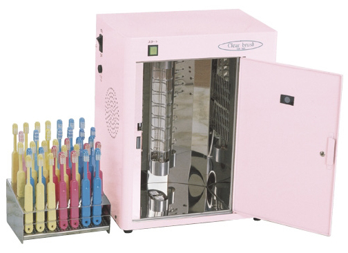 歯ブラシ殺菌乾燥保管庫(30本用) CB-100-30 19-3115-01