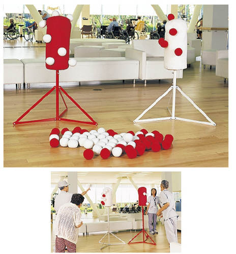 紅白くっつきボール台セット EE1450 23-3336-00