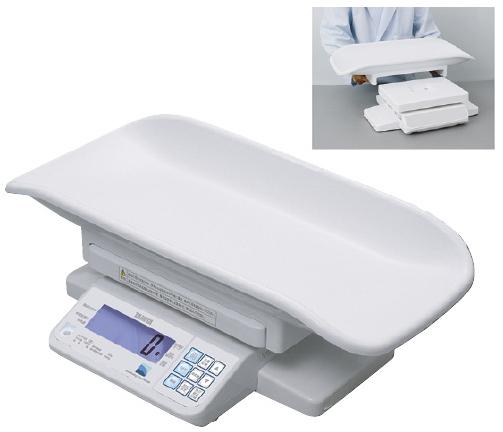 TANITA デジタルベビースケール(検定品) BD-715A(USBタンシツキ) 14区仕様 23-5491-02