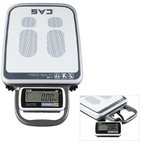 ポータブルデジタル体重計(検定品) PB-150H 23-6884-00