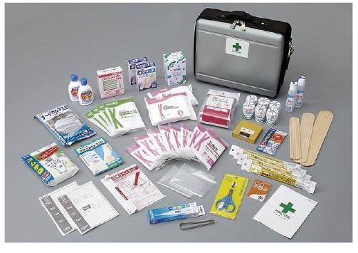 救急用品セット(防災の達人)多人数 DRK-QL1C 23-7766-00