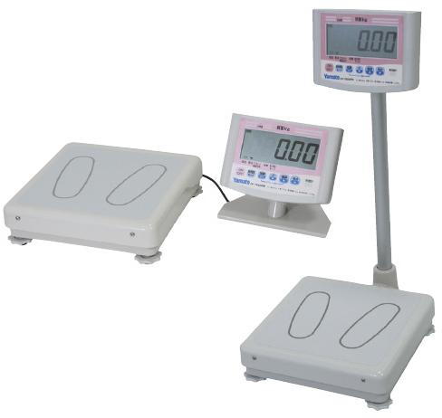 ヤマト デジタル体重計(検定付) DP-7800PW-200イッタイガタ 24-2073-00