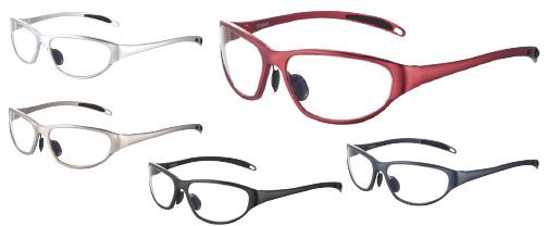 マエダ 放射線防護眼鏡プロティックアイウェア PT-99AL-S(シルバー) 24-2493-01