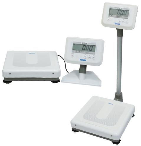 ヤマト デジタル体重計(検定付) DP-7900PW-S(セパレート) 24-4107-01