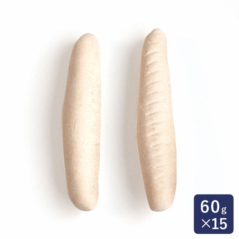 お好みの具材やトッピングで楽しめるアレンジ自在なコッペパン 冷凍パン生地 コッペパン成型品60 ISM イズム 60g×15_ ハロウィン お洒落 敬老の日 お得クーポン発行中