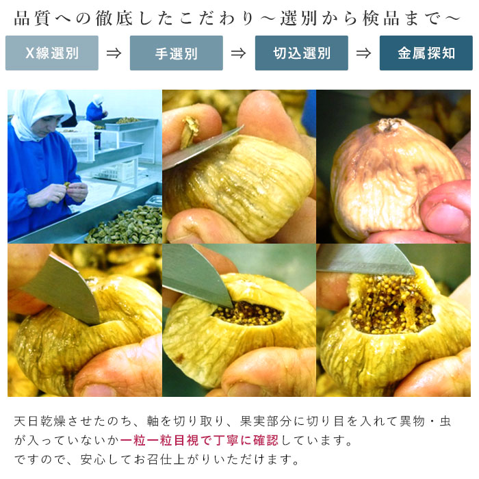 イチジク オーガニックドライいちじく 無添加白フィグ 500g ドライフルーツ 【有機JAS認定品】_