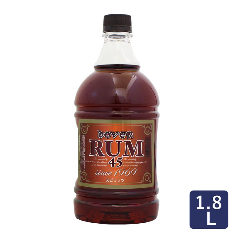 フルーツ漬やプディングなどお菓子作りにオススメのラム酒です ホームケーキ用 ラム45° ドーバー 1.8L_ _ スーパーセール ハロウィン 敬老の日