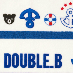 Double B ★ Malin no thread plying kids beach towel★