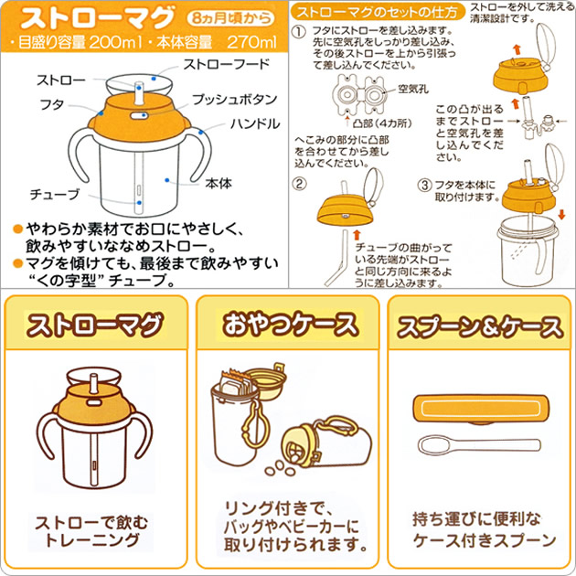 Dishwasher OK ☆ outing mug set