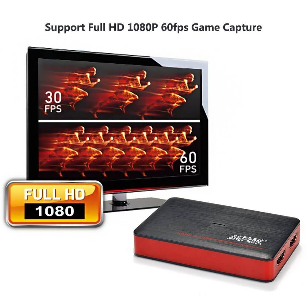 USB 3.0 Game Capture Card Recorder HD 1080 60 HDMI Video 1080P 60FPS Live Stream
