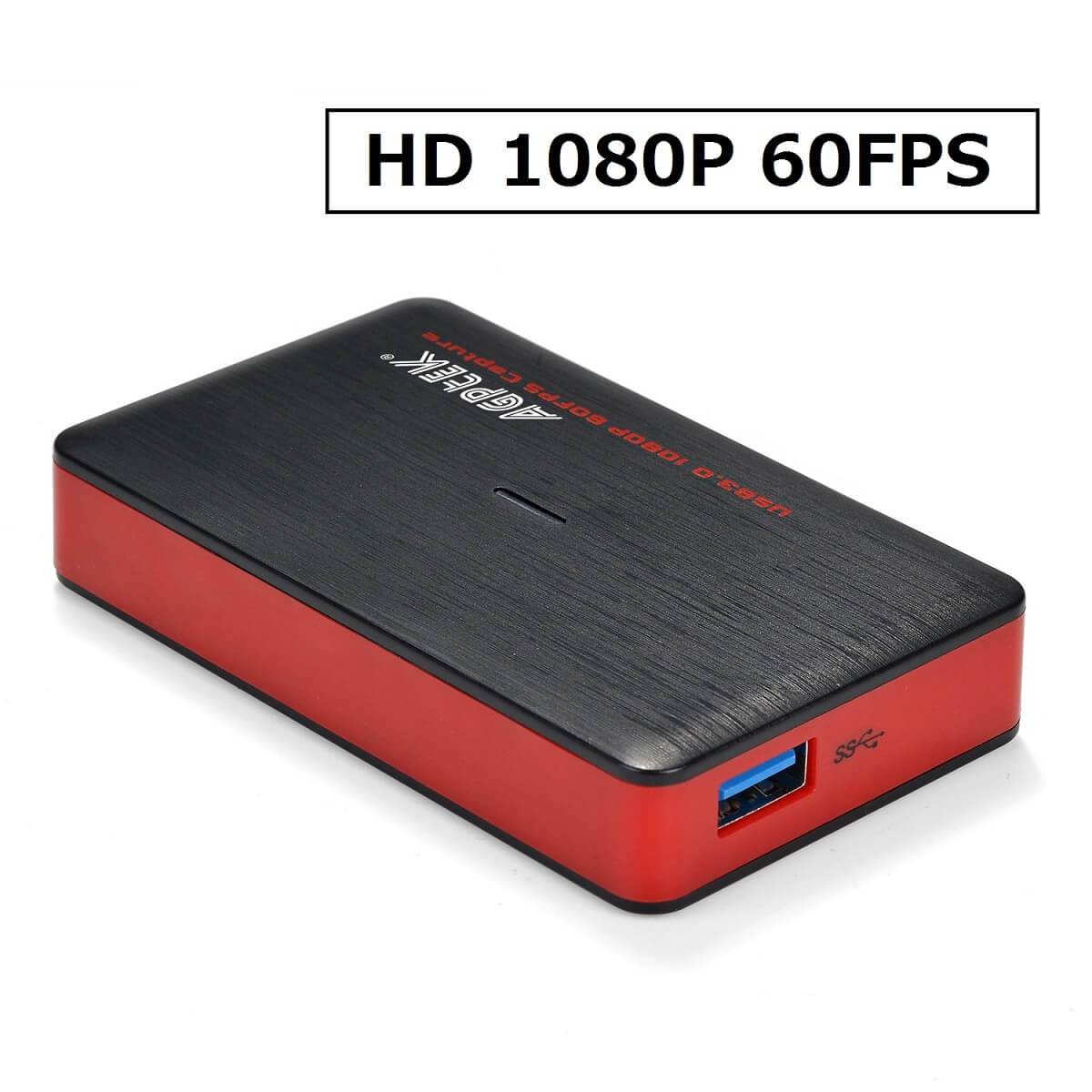 Video Capture Card USB 3.0 HD Recorder Device,HDMI in /& HDMI Out,1080P 60fps NEW