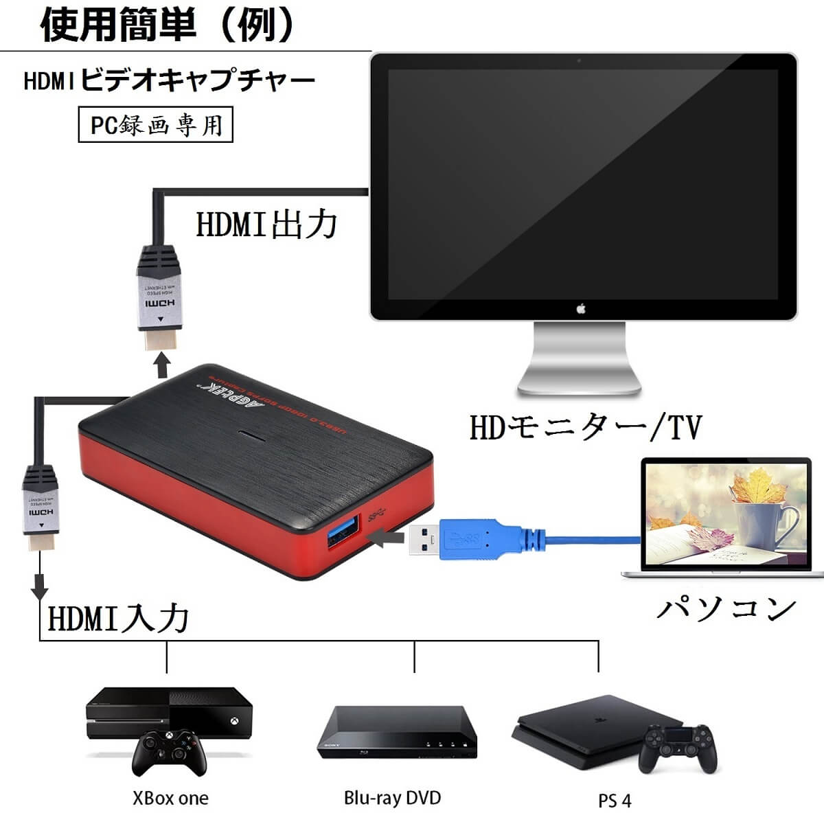 There are YouTube, Facebook for the recording / live delivery of the game  that AGPTEK HDMI game capture game recorder video capture USB3 0 connection