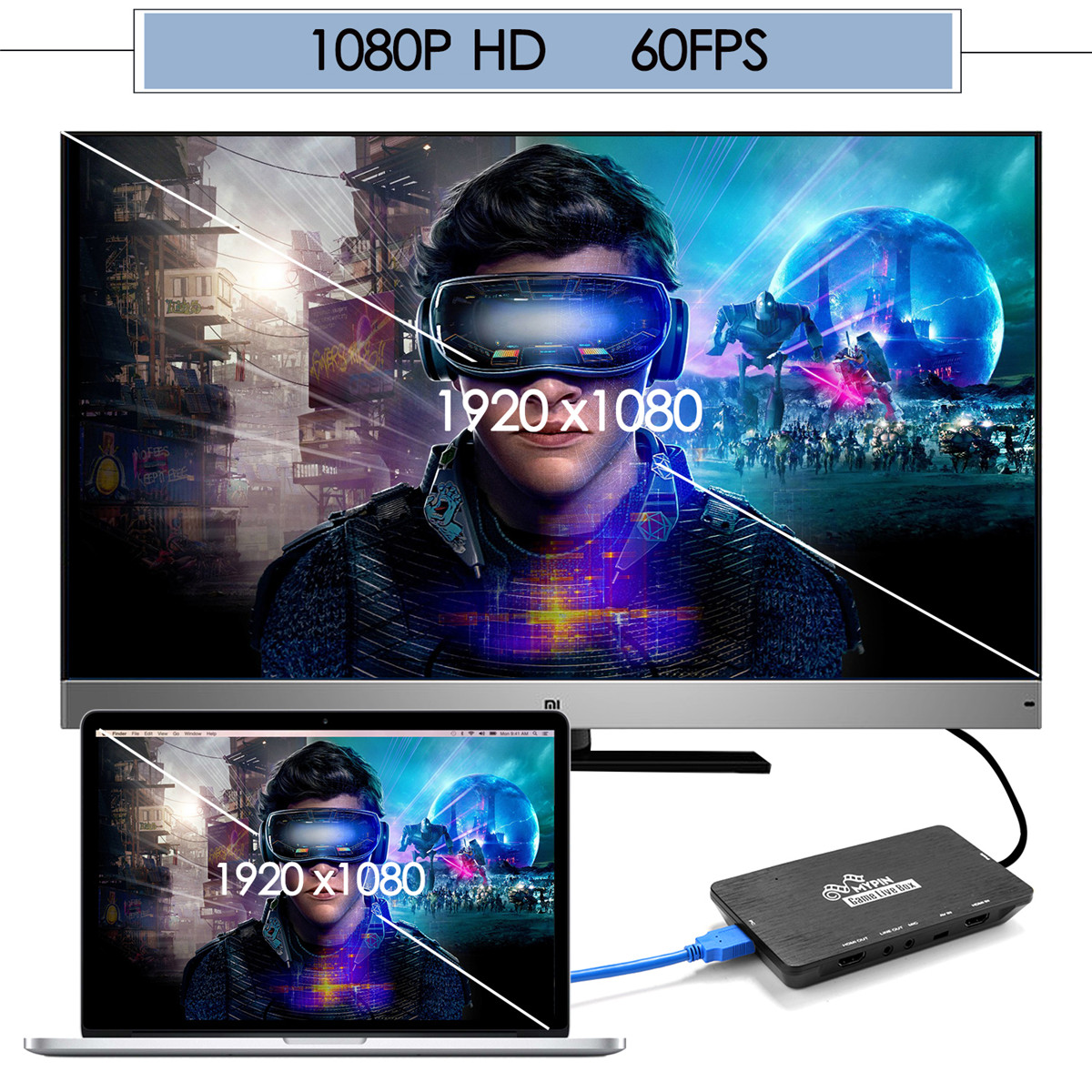 There are YouTube, Facebook for the recording / live delivery of the game  that AGPtEK HDMI game capture video capture