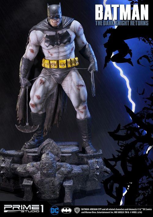 【在庫品】【プライム1スタジオ】 【送料無料】ミュージアムマスターライン/ バットマン ダークナイト・リターンズ: バットマン 1/3 ポリストーン スタチュー MMDC-17